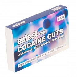 EZ Test for Cocaine Cuts x10