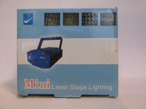 Mini laser stage lightening