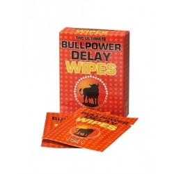 Bull power wipes  delay 6x2 ml