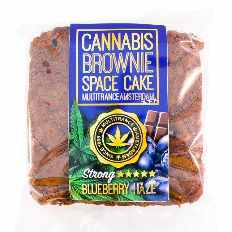 Cannabis Brownie Strong Bluebery Haze