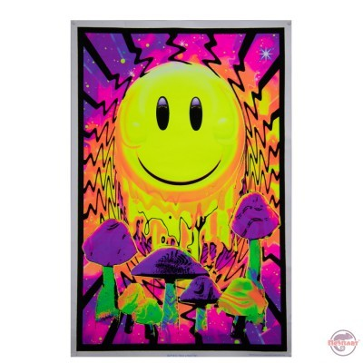 Black light poster Nice trip