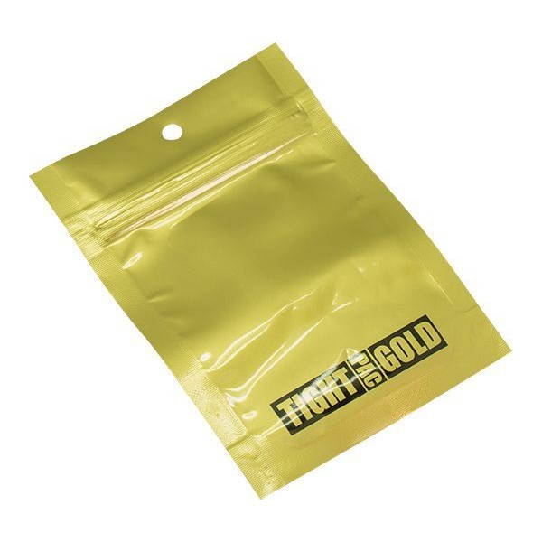 Tightpac Zip-Lock Bag Gold Small (92 x 127 mm)