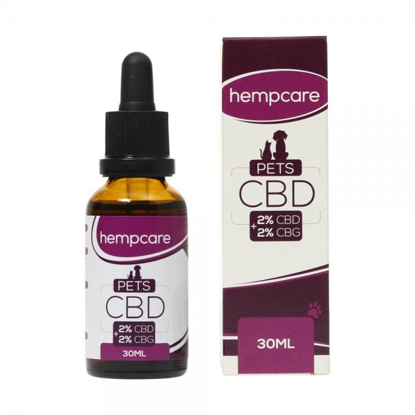 HempCare Pets 4 procent CBD - 10 ml