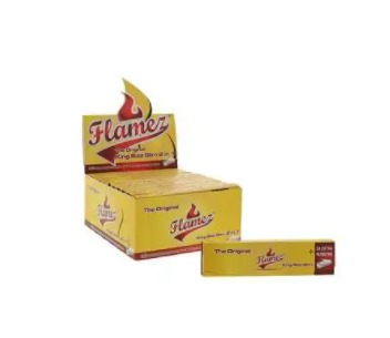Flamez Yellow 2in1 KS Slim 24 pcs