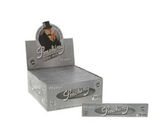 Smoking Paper Box Silver