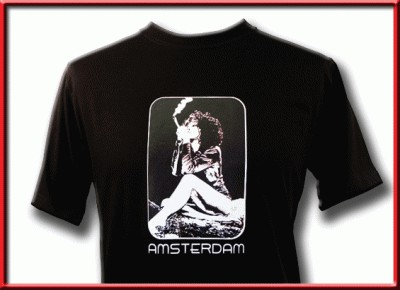 tshirt smoking girl