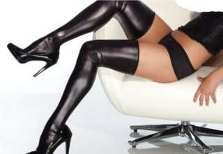 Leather- over the knee